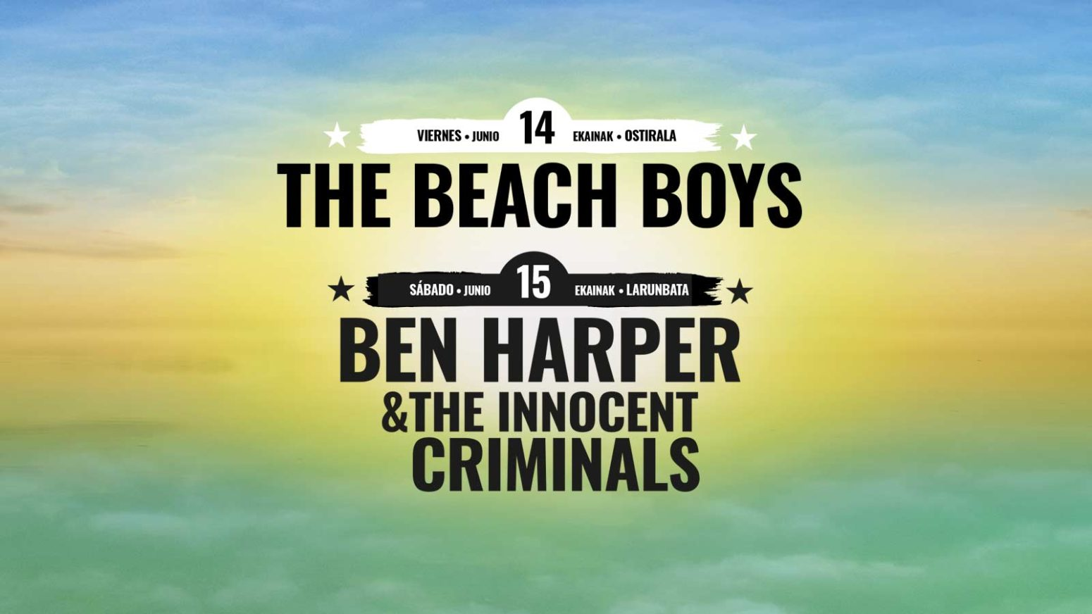BBK MUSIC LEGENDS 2019: BEACH BOYS, BEN HARPER Y LITTLE STEVEN... DE MOMENTO. Slider-mlf-3-1550x872